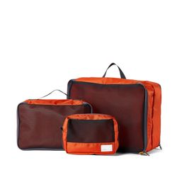 R PACKABLE POUCH 506 SET ORANGE