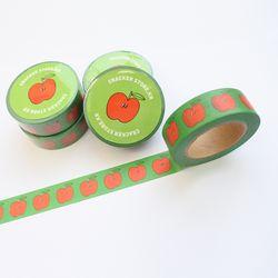 사과 마스킹테이프