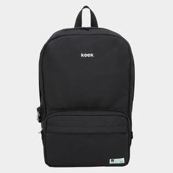 keek 브랜드백팩+크로스백 (BLACK)