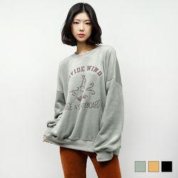2406 융 스케이트 맨투맨 티셔츠 (3colors)