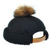 [플릭앤플록]OHH05.라쿤 방울 양털밴드 와치캡 숏비니