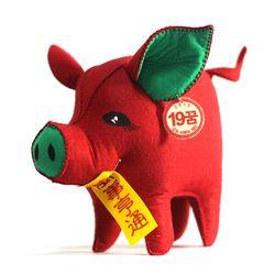 [일구돼지인형] 맡은일 큰돼지-돼지인형수제완성품