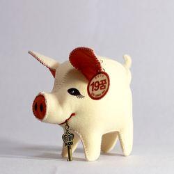 [일구돼지인형]19꿈돼지-돼지인형수제완성품