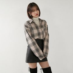 [로코식스] 웰즈 체크 셔츠