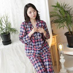 멀티고양이 세미트윌 여성잠옷
