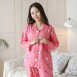 인디언프렌즈 세미트윌 여성잠옷