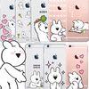 오버액션 토끼 클리어 소프트 케이스 갤럭시S 시리즈