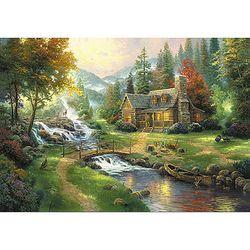 숲속의 파라다이스 1000조각 목재퍼즐 직소퍼즐 WPK1000-33