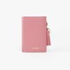REIMS W014 Folder3 pocket Wallet Rore Pink