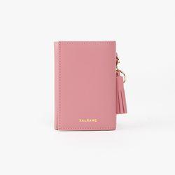 REIMS W014 Folder3 pocket Wallet Rore Pink