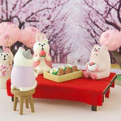 데꼴 2019 빨간평상 피규어 strawberry edition