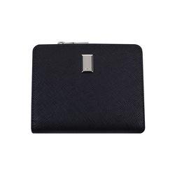 파워수납 파스텔 미니 반지갑 블랙(AG2H9206DKBB)