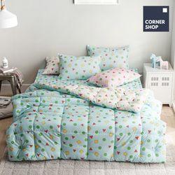 코너샵 짱구 잠옷 이불패드세트 S 블루