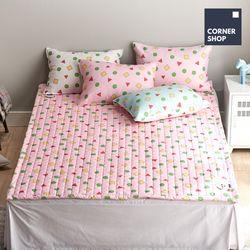코너샵 짱구 잠옷 카페트 SS 핑크