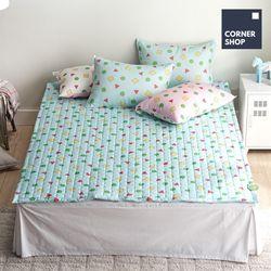 코너샵 짱구 잠옷 카페트 SS 블루