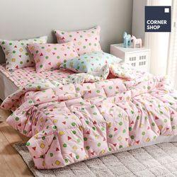 코너샵 짱구 잠옷 이불 Q 핑크