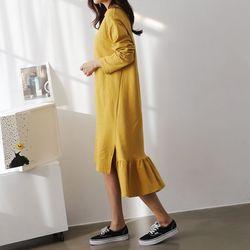 Cotton Unbal Dress