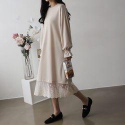 Lace Boxy Dress