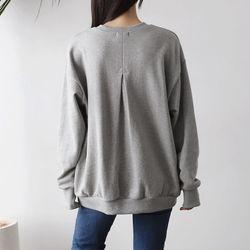Point Cotton Sweatshirt