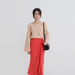 candy square stripe tee (3colors)