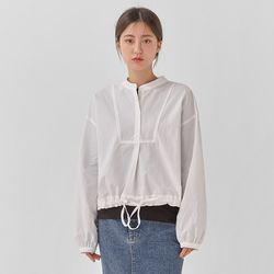 sporty string casual blouse