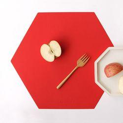 케라미카 실리콘 테이블매트 헥사곤(12color)