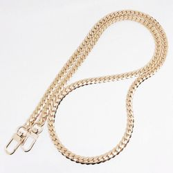 [G011] 7mm 뱀줄(Snake) 골드 브래스 체인가방줄 여성가방스트랩