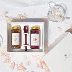 [엔게티 수제청] 선물세트(장미x패션후르츠청) 수제 과일청