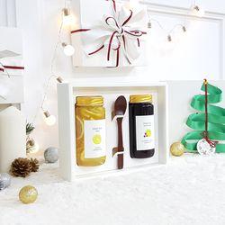[엔게티 수제청] 선물세트(레몬청x블루베리레몬청) 수제 과일청