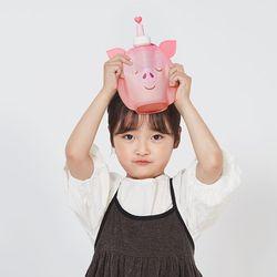실리콘 돼지 물주머니 350ml WSK427
