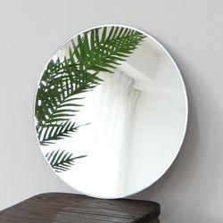 프레임리스 원형거울