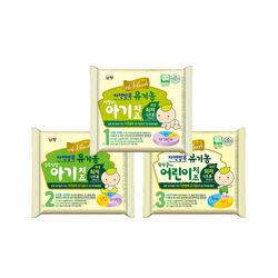 남양 유기농 아기치즈 3단계 80매