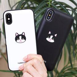 [Try]고양이얼굴 도어범퍼 케이스.LG G5(F700)