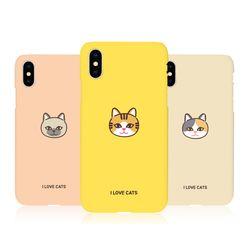 [Try]고양이얼굴 3D하드 케이스.아이폰6(S)