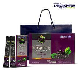 FND 삼성제약 아로니아 진액 스틱 1박스(12g X 30포)   쇼핑백