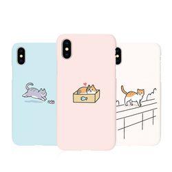 [Try]냥이의하루 3D하드 케이스.아이폰5S(SE)