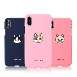 [Try]고양이얼굴 소프트 케이스.아이폰6(s)플러스