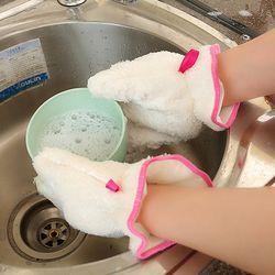 설거지 간편 수세미장갑
