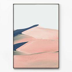 메탈 인테리어 풍경 모던 그림 포스터 액자 사막 [대형]