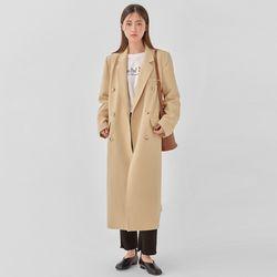 well double long coat
