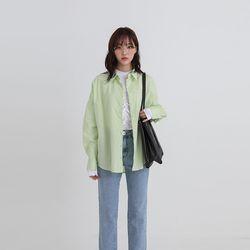 vivid stripe shirt (3colors)