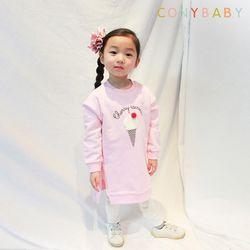 [CONY]아이스크림 사계절 맨투맨 상하복세트(핑크)