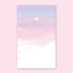 [~6/3일까지] [A5] 6공 다이어리 리필 속지-트윙클