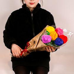 SNS대란 장미꽃다발인형 7color 40cm