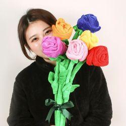 SNS대란 장미꽃다발인형 7color 60cm