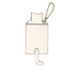 복받아냥 고양이 카드지갑 화이트(AG2C9210OAWW)