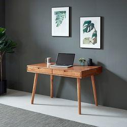 이스테지아 원목 그루 디자인 책상 1200