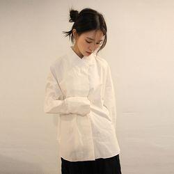 oriental mood collar shirt (2colors)