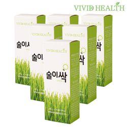 [비비드헬스] 술이싹 새싹보리 숙취해소 젤리20gx50포