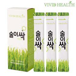 [비비드헬스] 술이싹 새싹보리 숙취해소 젤리20gx10포